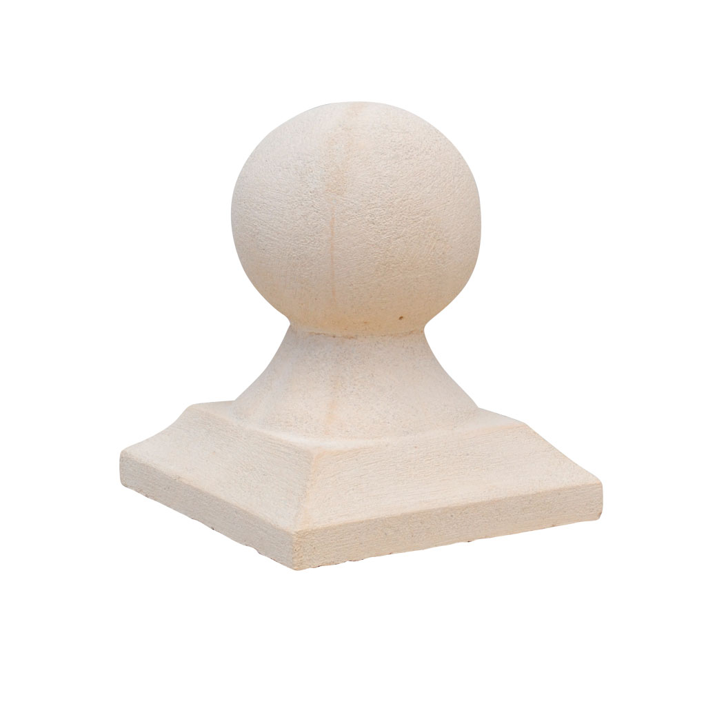 Ball pilaster cap