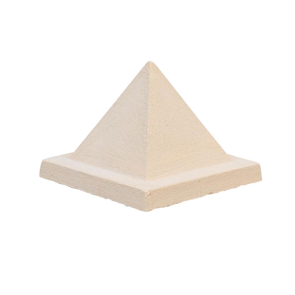 Pyramid pilaster cap